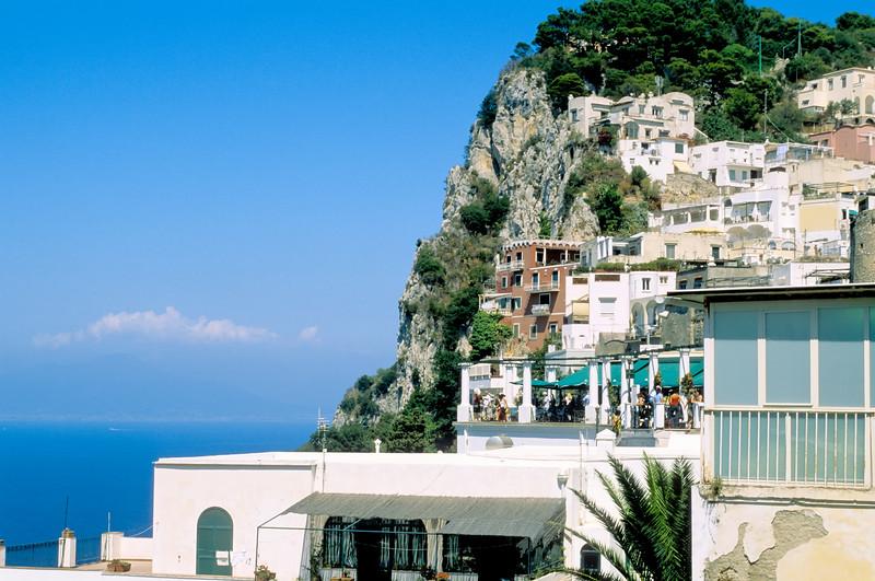 Built into the cliffs - Capri, Italy