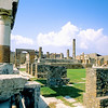 Ruins of the central square - Pompeii, Italy
