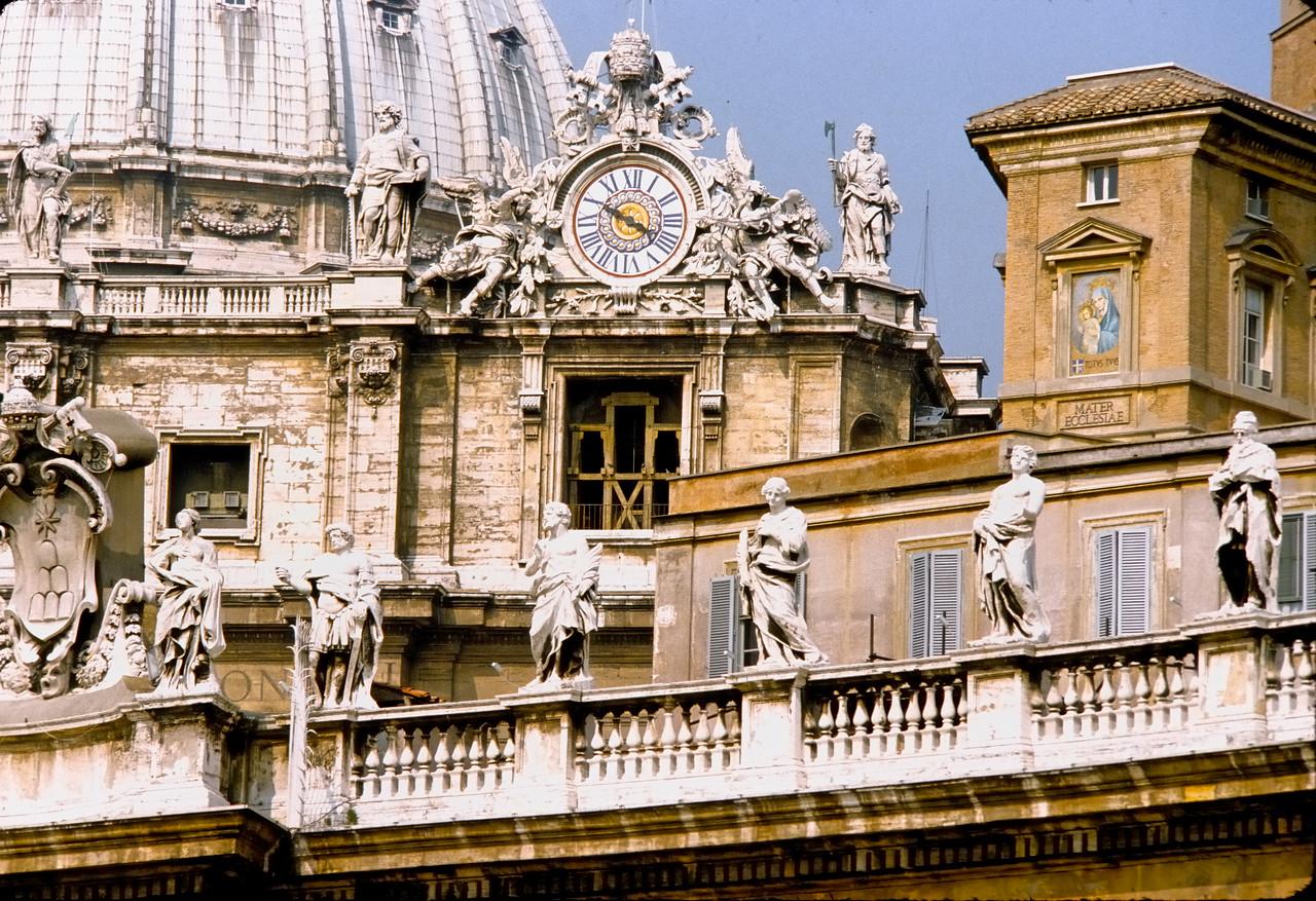St. Paul's roof detail - The Vatican
