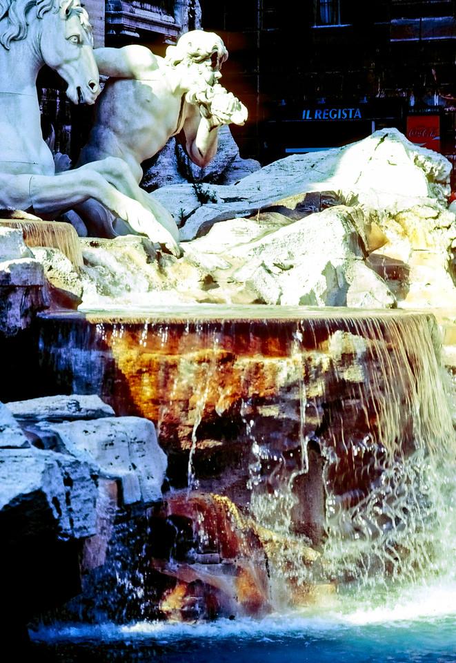 Tivoli Fountain - Rome, Italy