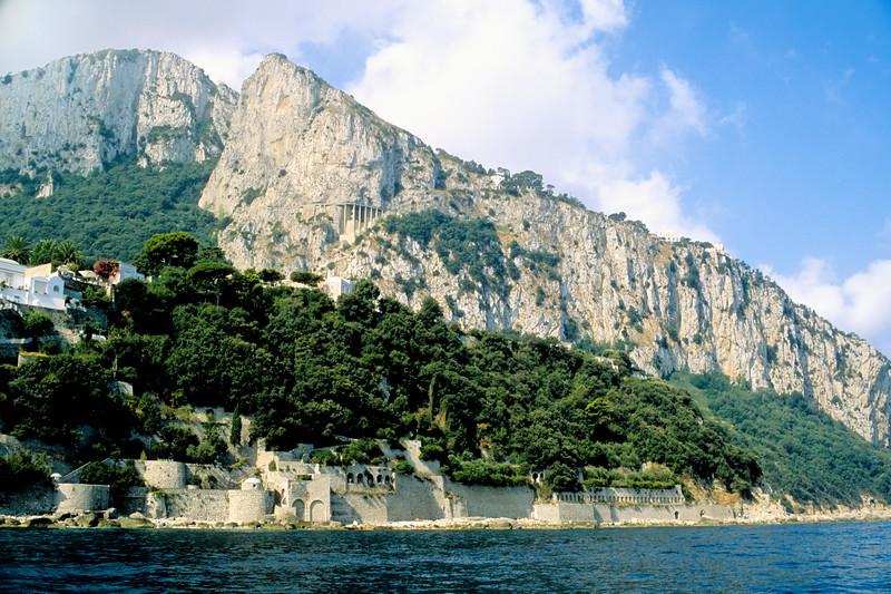 Approach to harbor - Capri, Italy