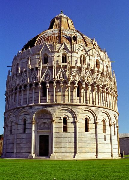 Baptistry - Pisa, Italy