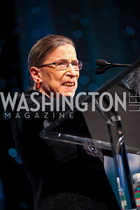 Justice Ruth Bader Ginsburg. J Street Gala Dinner. Photo by Tony Powell. Convention Center. February 28, 2011