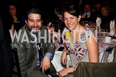 David Rosenn, Shana Tabak. J Street Gala Dinner. Photo by Tony Powell. Convention Center. February 28, 2011