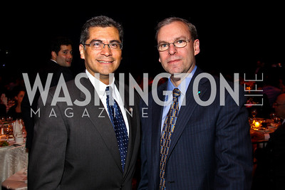 California Rep. Xavier Becerra. J Street President Jeremy Ben-Ami. J Street Gala Dinner. Photo by Tony Powell. Convention Center. February 28, 2011
