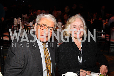 Alan and Irene Wurtzel. J Street Gala Dinner. Photo by Tony Powell. Convention Center. February 28, 2011