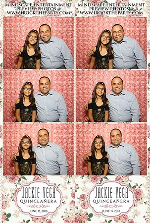 Jackie Vega's Quinceanera-Photo Booth Pictures