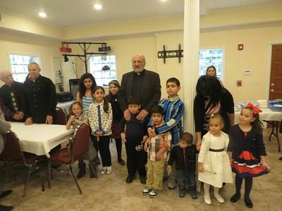 Jacksonville Parish Welcomes Fr. Tateos Abdalian, February 2015