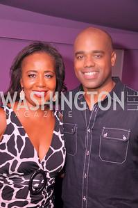 Charolette Reid and Jamal Simmons