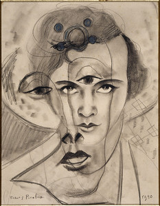 Francis Picabia (1879–1953) Olga, 1930 Graphite pencil and crayon on paper Bequest of Mme Lucienne Rosenberg 1995 CNAC/MNAM/Dist.RMN-Grand Palais/Art Resource © 2012 Artists Rights Society (ARS), New York / ADAGP, Paris