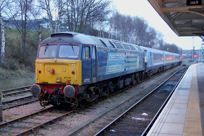 Another of those days that you just want to forget about... an ongoing shortage of units had led to a 3-coach loco-hauled set being used on seven weekday return trips between Norwich and Yarmouth or Lowestoft. 47712+47802 were today's chosen traction, but
