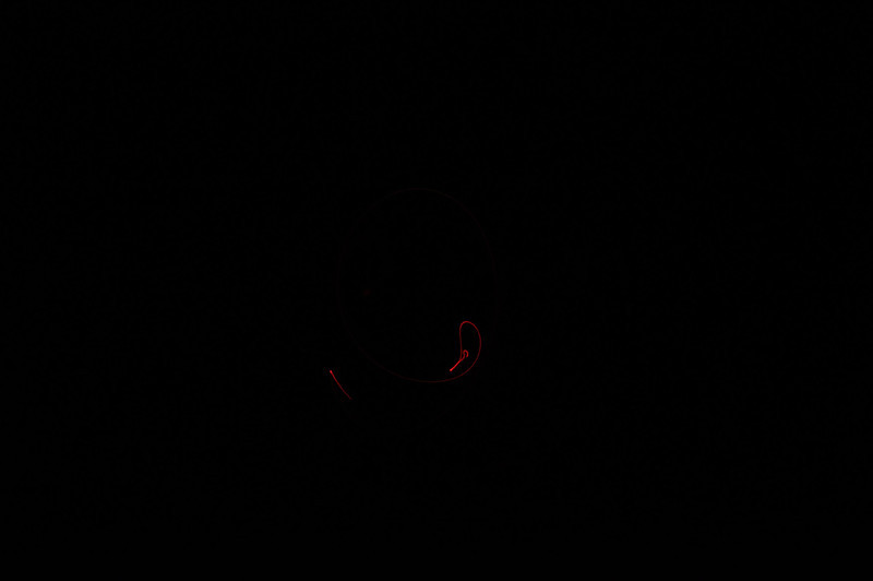 Both Clear and Diffused Red LEDs.<br /> 1 sec, ISO-1000, f/20