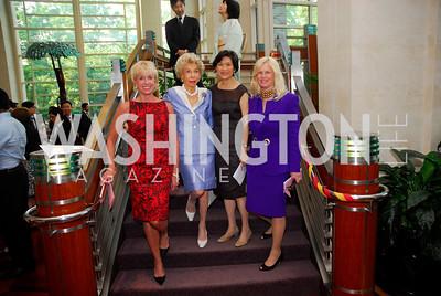 Kathy Kemper,Ina Ginsburg,,Chan Heng Chee,Susan Blumenthal, Japan Aid,May 31,2011,Kyle Samperton