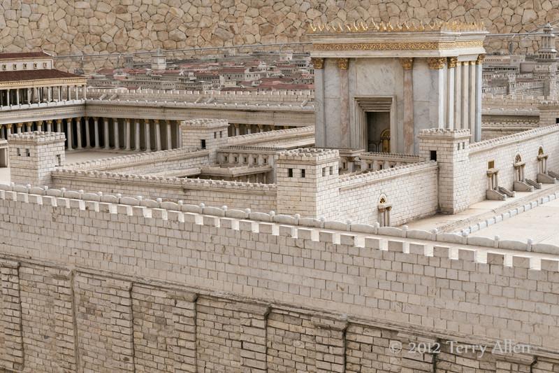 Model-of-Jersalem-c-100-BC-7,-Israel -Museum,-Jerusalem