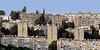Hundreds-of-roof-top-water-heaters,-Ein-Karem,-Israel