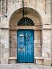 Colorful-door,-Ein-Karem,-Israel