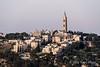 Church-of-Ascension-Bell-Tower,-Mount of-Olives,-Jerusalem