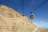 Cable-car-and-walking-path-to-Masada,-Israel
