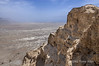 View-over-the-desert-from-Masada,-Israel