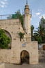 Mosque-over-Mary's-Spring,-Ein-Karem,-Israel