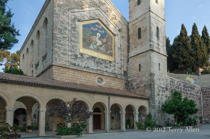Church-of-the-Visitation,-Ein-Karem, -Israel