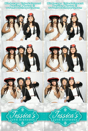 Jessica's 16th Birthday Party - Photo Booth Pictures