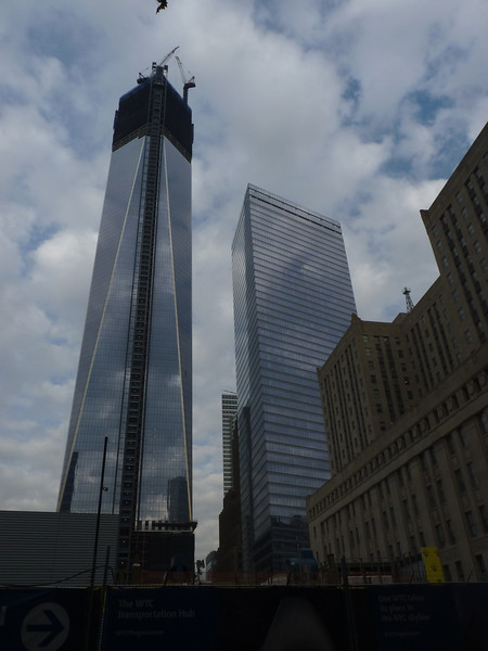 7 World Trade Center is beside the new One World Trade Center which is just completing its 104 storeys, the former still owned by Larry Silverstein (it was the first building in the former World Trade Center complex he owned) but the latter belonging to the Port Authority.