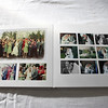 This photo is taken from the same album as the previous photo.  The album itself has a white vinyl one with white pages.  The white mats (the cardboard overlay that the photos are below) add a lightness to the album on a cold December day