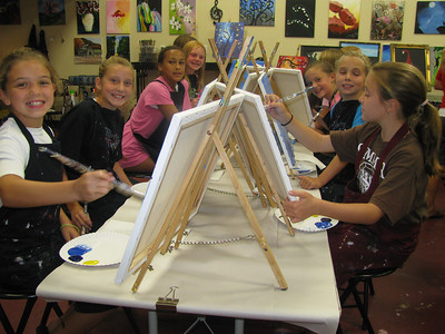 July 18, 2012 (Painting With A Twist)