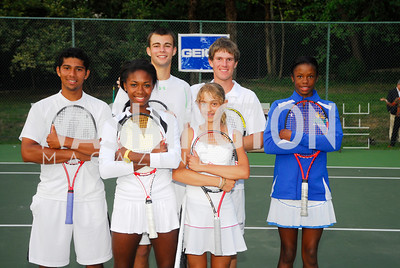 Andrew Adams,Skylar Morton,Joe Dom,Nadia Gizdova,Mitchell Frank,Jada Robinson,JuniorTennis Champions Center Benefit,May 12,2011,Kyle Samperton