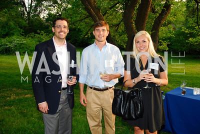 George Gomez,Eric Billings,Whitney Wood,JuniorTennis Champions Center Benefit,May 12,2011,Kyle Samperton