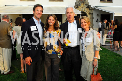 Mark Tercek,Beth Singer,Steve Hills,Joslyn Hills,Junior Tennis Champions Center Benefit,May 12,2011,Kyle Samperton