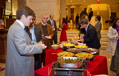 Kurdistan Regional Government (KRG) reception celebrating the Kurdish New Year, Newroz.  Held at the US Capitol Visitors Center in Washington, DC on March 31, 2011.   Photo: (C) 2011 Greg E. Mathieson / MAI