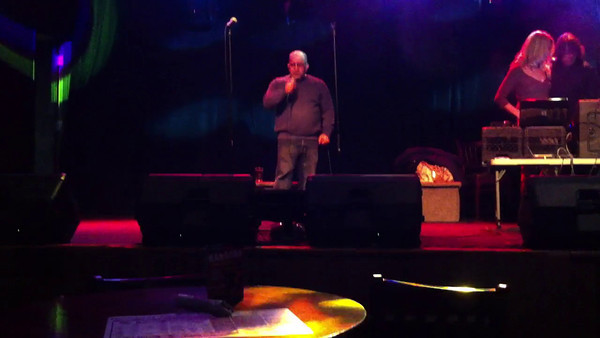 Singing Separate Ways by Journey at the Boneyard in Mayfield Heights, OH on 03/01/12