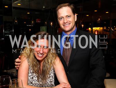 Tara Chantal Silver, John Hanshaw. Photo by Tony Powell. Kareem Abdul-Jabbar Private Dinner. June 6, 2011