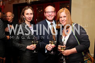 Margarete Ronnett, Timothy Edmonds, Susan Koch. Photo by Tony Powell. Kareem Abdul-Jabbar Private Dinner. June 6, 2011