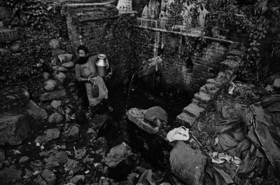 Heritage water supply in Purano Sano Thimi. Kathmandu Valley