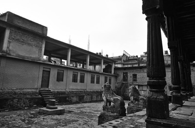 Preserving the old temples.