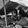A girl at home in Kathmandu