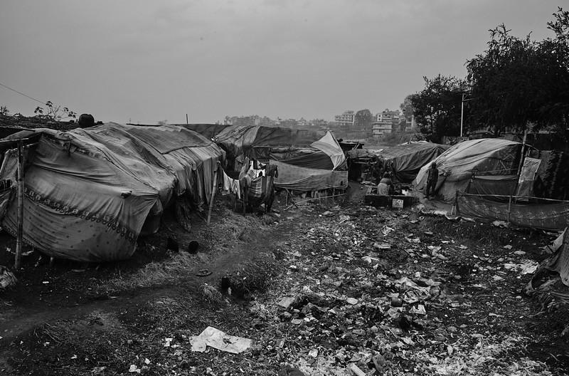A settlement in Kathmandu