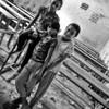 School kids in Thamel