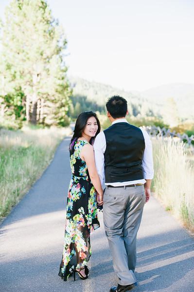 Khahn + Adam | Lake Tahoe Engagement