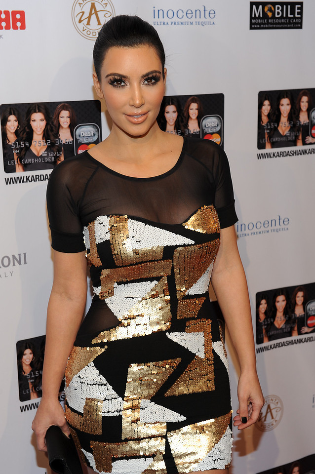 NEW YORK, NY - November 9: Kim Kardashian Attends the Official Kardashian MasterCard Launch Party at PACHA on November 9, 2010 in New York City.  (Photo by Joseph Bellantoni/In House Image)