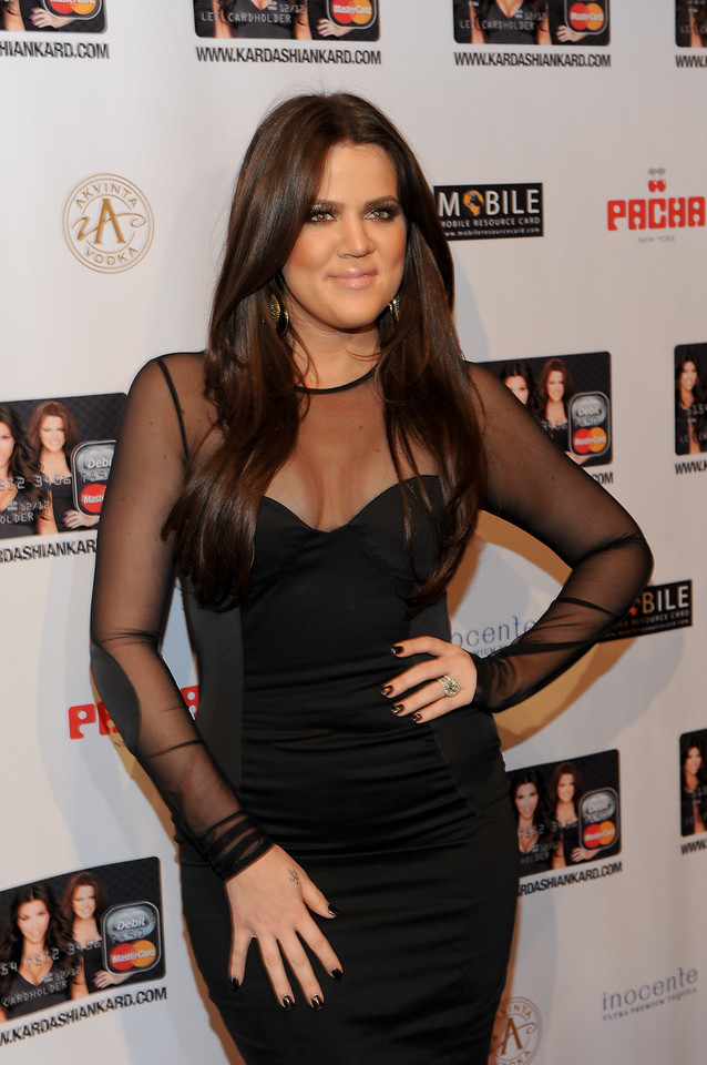 NEW YORK, NY - November 9:Khloe Kardashian Odom Attends the Official Kardashian MasterCard Launch Party at PACHA on November 9, 2010 in New York City.  (Photo by Joseph Bellantoni/In House Image)