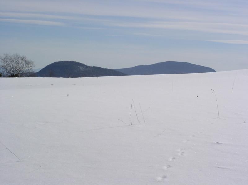 05 Snow horizon with mountains