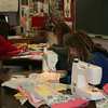 Girls in the Payette High School Youth Advisory Committee helped.  We had a little assembly line going.