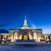 Cold Morning at Mt Timpanogos Temple