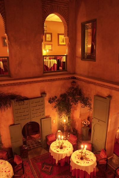 Le Tobsil, Moroccan restaurant, Marrakech, Morocco