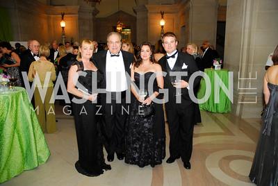 Teresa Morisi,Cesar Morisi,Marie Morisi,Colin Stodd,LUNGevity Gala,September 16.2011,Kyle Samperton