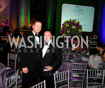 Roger Whyte,Darren Thomas,LUNGevity Gala,September 16.2011,Kyle Samperton